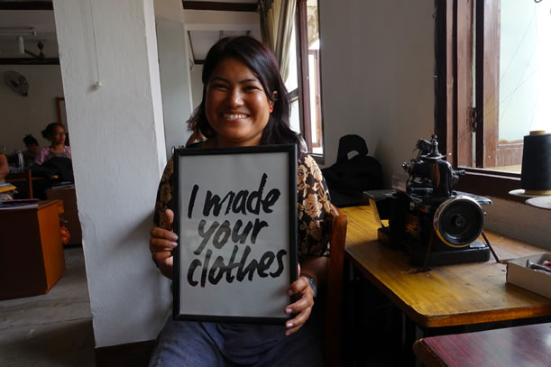 I Made Your Clothes - Ethical Fair Trade