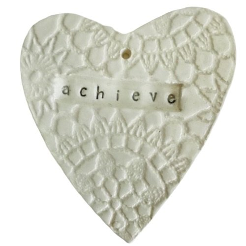 WallArt Heart - Achieve