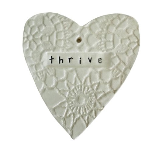WallArt Heart - Thrive
