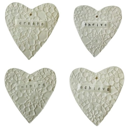 Wall Art - Heart, Set of 4